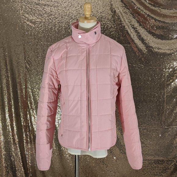 Ralph Lauren Pink Puffer Coat Girls   Large